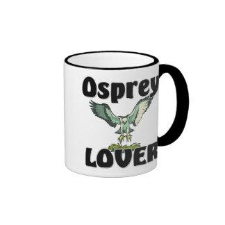 Amante de Osprey Taza De Dos Colores