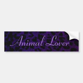 Amante de parachoques del animal de Sticker~ Pegatina Para Auto