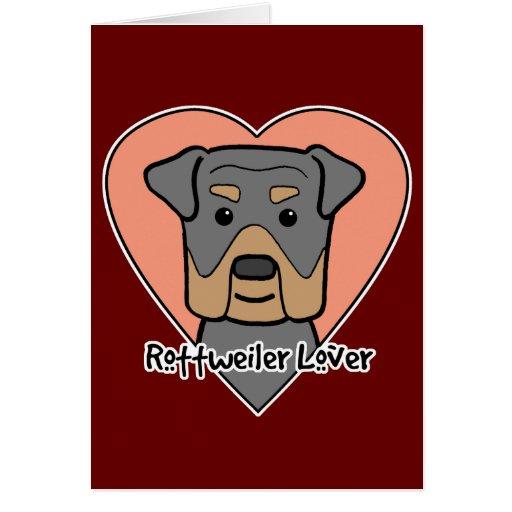 Amante de Rottweiler Felicitacion