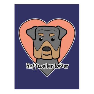 Amante de Rottweiler Postales