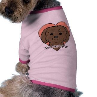 Amante de Shih Tzu Camiseta De Perrito