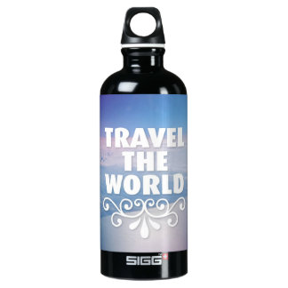 Amante de Travle Botella De Agua
