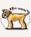 Amante de trigo de SCWT Terrier Playera
