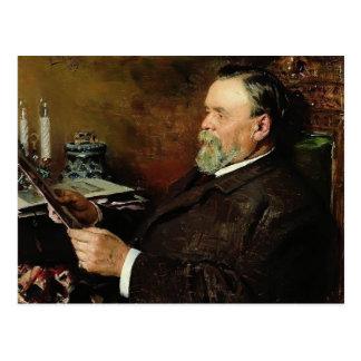 Amante de Vladimir Makovsky- de la pintura Postal