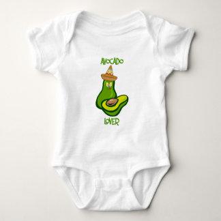 Amante del aguacate body para bebé