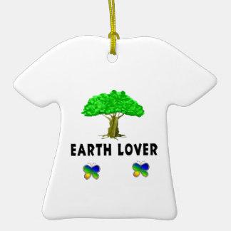 Amante del árbol de la tierra adorno de reyes