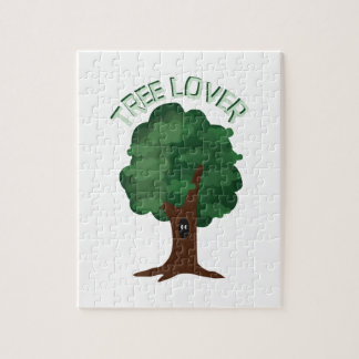 Amante del árbol puzzles