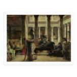 Amante del arte romano, 1870 (aceite en lona) postales