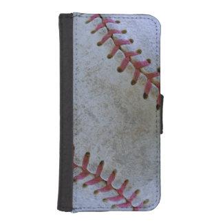 Amante del ball_Baseball de Fan-tastic_battered Billeteras Para Teléfono