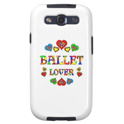 Amante del ballet galaxy SIII cárcasas