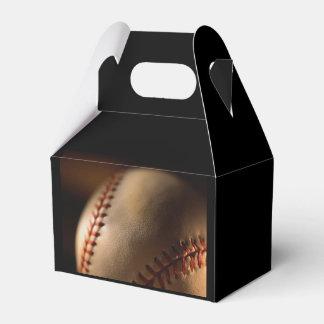 amante del béisbol caja para regalo de boda