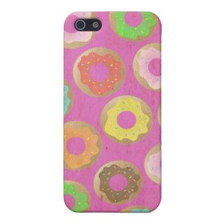 Amante del buñuelo iPhone 5 cárcasas