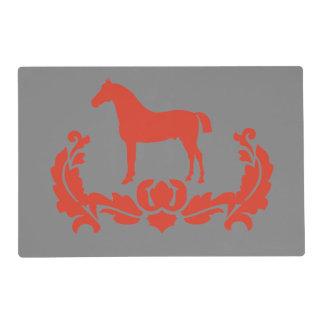 Amante del caballo salvamanteles