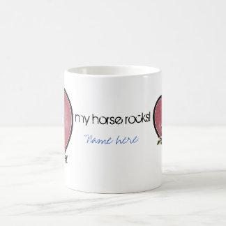Amante del caballo taza