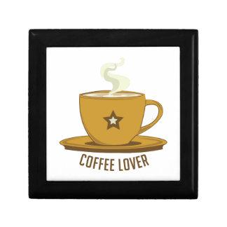 Amante del café cajas de regalo