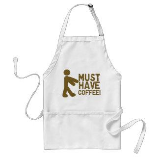 Amante del café delantales