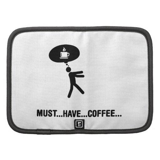 Amante del café organizador