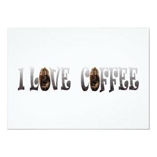 Amante del café invitacion personalizada