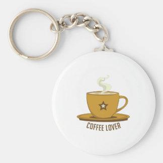 Amante del café llaveros