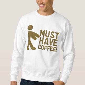 Amante del café sudadera con capucha