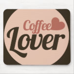 Amante del café tapetes de ratones
