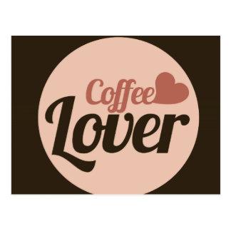 Amante del café postal
