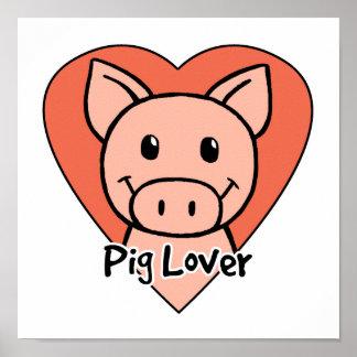 Amante del cerdo impresiones