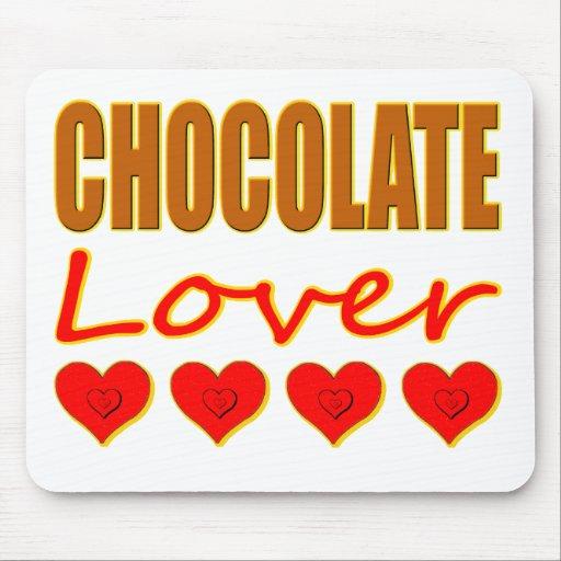 Amante del chocolate alfombrilla de ratón