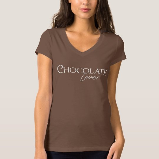 Amante del chocolate - camisa/cacao del chocolate playera