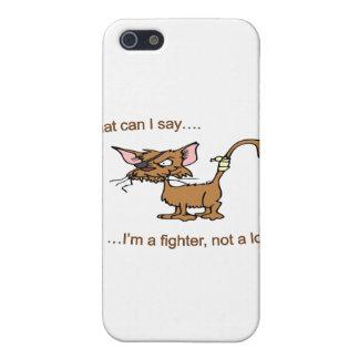 Amante del combatiente no iPhone 5 cárcasa