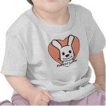 Amante del conejo camisetas