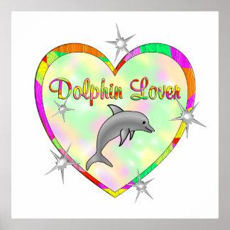 Amante del delfín posters