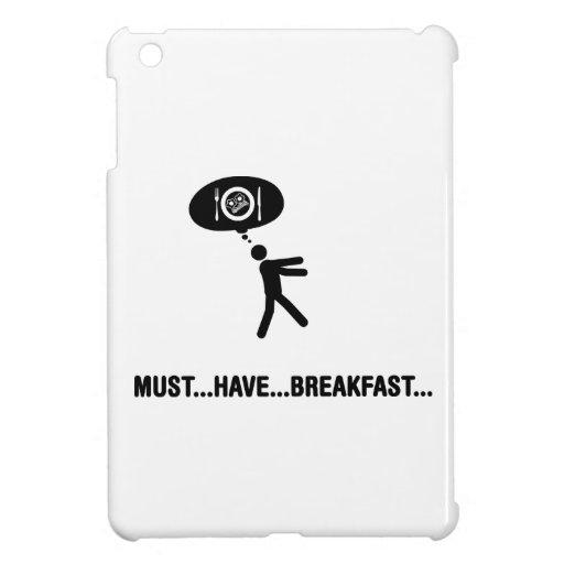 Amante del desayuno iPad mini carcasas