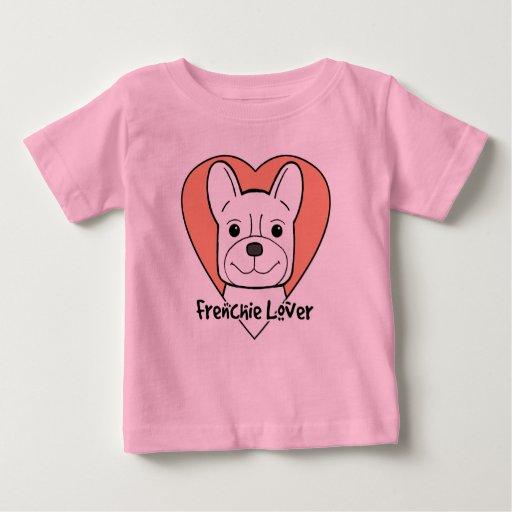 Amante del dogo francés playera