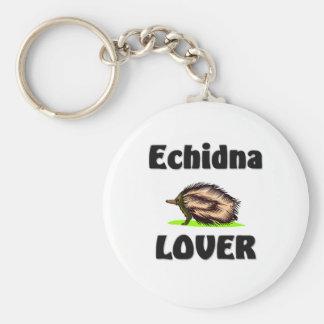 Amante del Echidna Llaveros Personalizados
