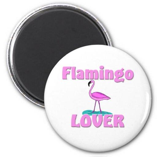Amante del flamenco imán de frigorifico
