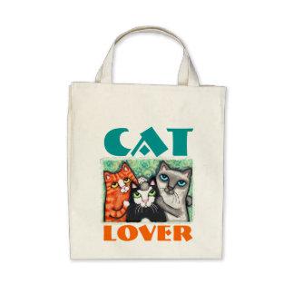 Amante del gato bolsas