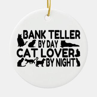 Amante del gato de la caja de banco adornos
