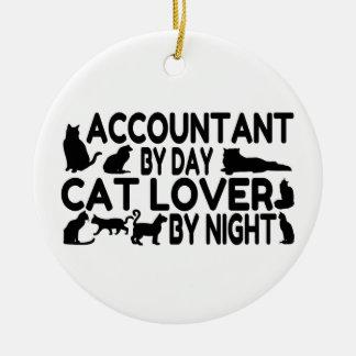 Amante del gato del contable ornatos