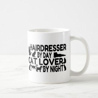 Amante del gato del peluquero taza