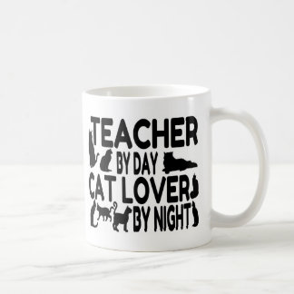 Amante del gato del profesor tazas de café