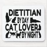 Amante del gato el dietético alfombrillas de ratón