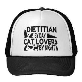 Amante del gato el dietético gorros