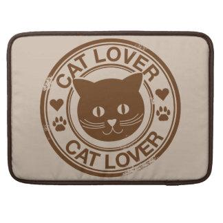Amante del gato funda macbook pro