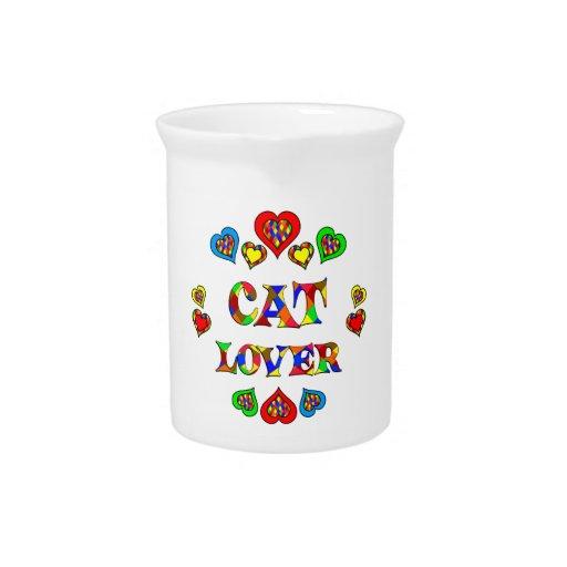 Amante del gato jarrón