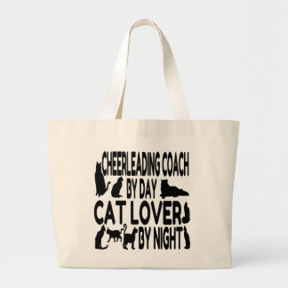 Amante del gato que anima al coche bolsa de mano