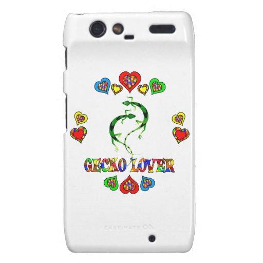 Amante del Gecko Motorola Droid RAZR Fundas