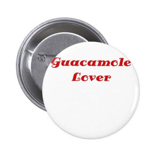 Amante del Guacamole Pin