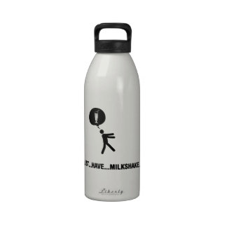 Amante del Milkshake Botallas De Agua