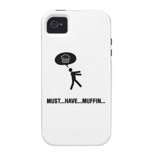 Amante del mollete Case-Mate iPhone 4 carcasas